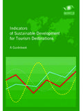 Indicators of Sustainable Development for Tourism …