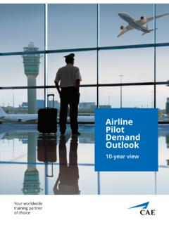 Airline Pilot Demand Outlook - CAE Inc.