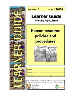 Human rresource policies and pprooccedures - …