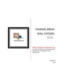 Thermal Break Wall Systems - Insolutions