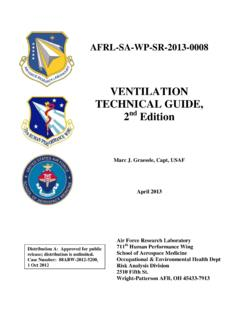VENTILATION TECHNICAL GUIDE,