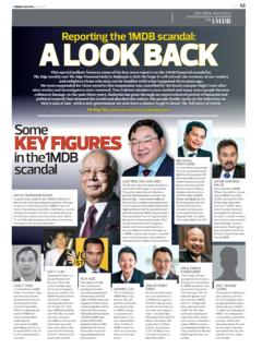 AA LOOK BACK Reporting the 1MDB scandal: LOOK BACK