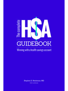 THE COMPLETE HSA GUIDEBOOK - HealthEquity