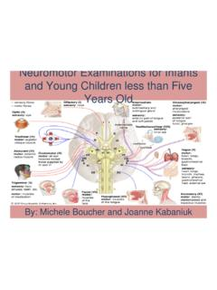 Neuromotor Examinations for Infants and Young …