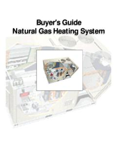 Buyer's Guide Natural Gas Heating System