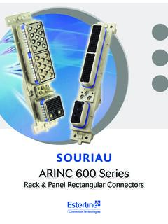 ARINC 600 Series - Mouser Electronics