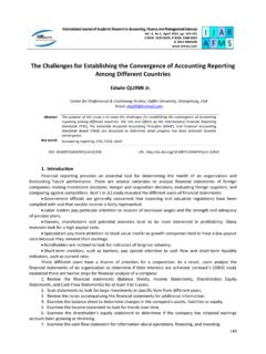 The Challenges for Establishing the Convergence of ...