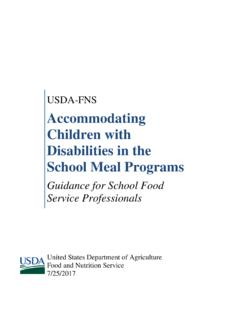 Accommodating Children with Disabilities in the School ...