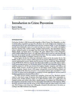 Introduction to Crime Prevention - Jones & Bartlett Learning
