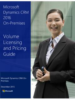 Microsoft Dynamics CRM 2016 On-Premises