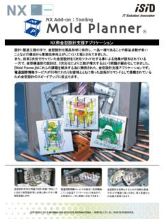 NX Add-on Tooling - isid-industry.jp