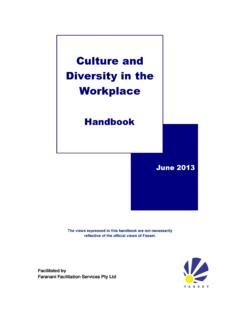 Culture and Diversity in the Workplace - Fasset