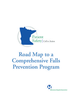 Road Map to a Comprehensive Falls Prevention Program