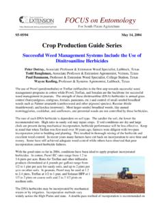 Crop Production Guide Series - cotton.tamu.edu