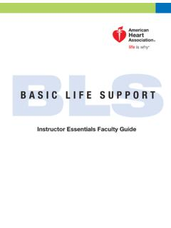 BLS - American Heart Association