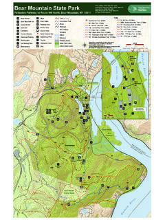 Bear Mountain State Park Trail Map - New York State Parks ...