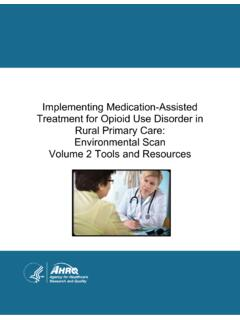 Implementing Medication-Assisted Treatment for Opioid Use ...