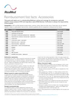 Reimbursement Fast Facts: Accessories