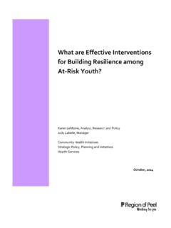 What are Effective Interventions for Building Resilience ...