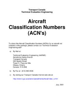 Aircraft Classification Numbers (ACN's) - eddh.de