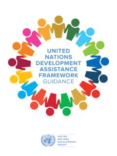UNITED NATIONS DEVELOPMENT ASSISTANCE …