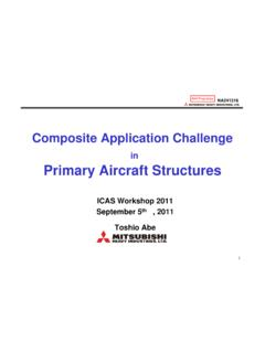Primary Aircraft Structures Composite Application Challenge