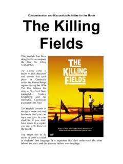 The Killing Fields - The Curriculum Project