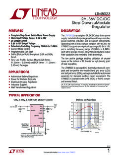2A, 36V Step-Down µ Regulator FEATURES …