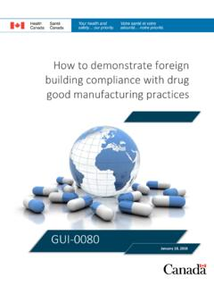 How to demonstrate foreign building compliance with …