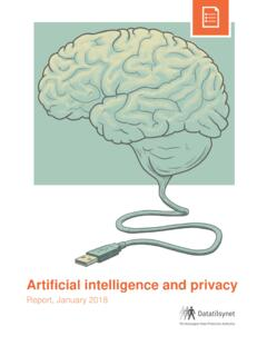Artificial intelligence and privacy - Datatilsynet