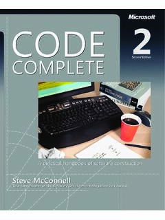 Code Complete, Second Edition eBook