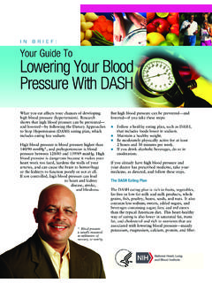 In Brief: Your Guide to Lowering Your Blood Pressure with …