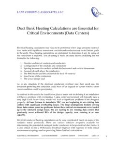 Duct Bank Heating Calculations are Essential for Critical ...