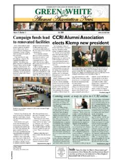 Campaign funds lead CCRI Alumni Association to renovated ...
