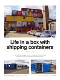Life in a box with shipping containers - The Owner …