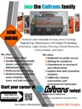 Join the Caltrans family
