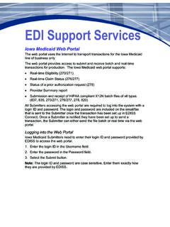EDI Support Services - edissweb.com