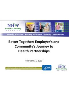 Better Together: Employer's and Community's Journey to ...