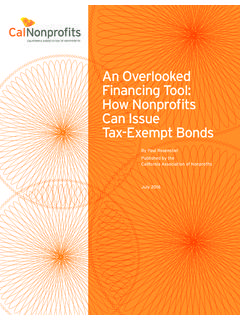 An Overlooked Financing Tool: How Nonprofits Can Issue …