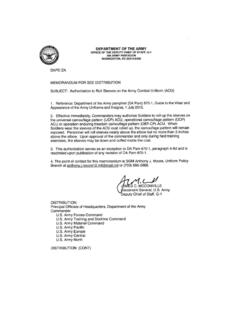Authorization to roll sleeves on the army combat