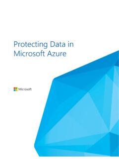 Protecting Data in Microsoft Azure
