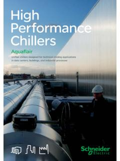 High Performance Chillers - Uniflair