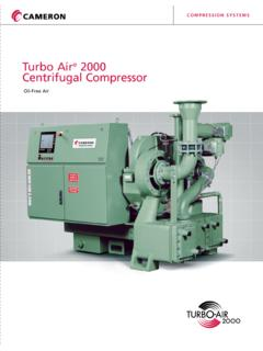 Turbo Air 2000 Centrifugal Compressor