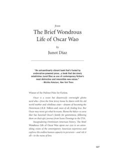 from The Brief Wondrous Life of Oscar Wao - Overstock.com
