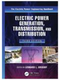 Electric Power Generation, Transmission, and Distribution ...