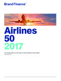 Airlines 50 2017 - Brand Value | Intangible Asset …