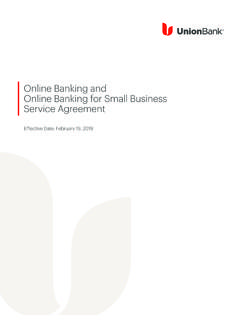 Online Banking and Online Banking for ... - MUFG Union Bank