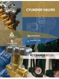 CYLINDER VALVES - Gas Equipment & Containment Company