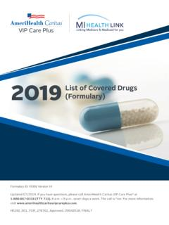 2019 List of Covered Drugs (Formulary)