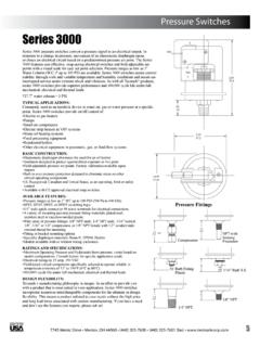 Series 3000 - Tecmark® | Pressure and Temperature Control ...